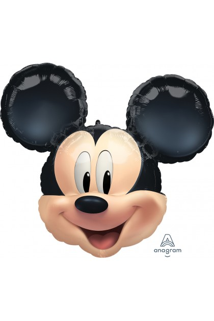 Mickey or Minnie Mouse Balloon Bunch