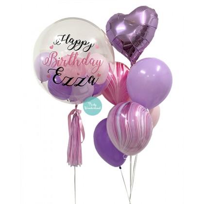 Purple Bubble Balloon (Ezza)