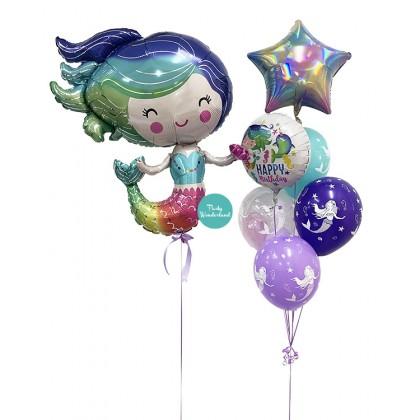 Mermaid Theme Balloon Package