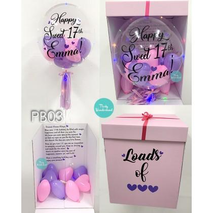Surprise Pink Box - Pink & Purple Colour